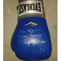Guante Autografiado Firmado Miguel Canto Box Boxeo Everlast