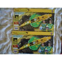 Tagliani Y Power 2 Fotos Autografiada Piloto Serie Champ Car