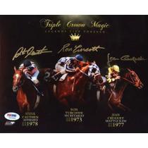 Triple Corona Autografiada Turcotte Secretariat Y Más