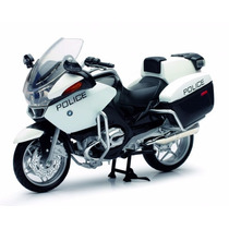 Replica A Escala New-ray Bmw R1200rt-p Police Bike Coleccion