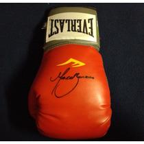 Guante Firmado Marco Antonio Barrera Box Boxeo Everlast