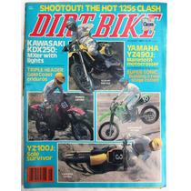 Dirt Bike Agosto De 1982 Revista De Motociclismo Yamaha