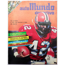Automundo Deportivo # 196 Nfl Autos 1986 Paul Hornung