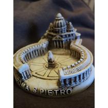 Plaza De San Pedro Vaticano Italia Roma Recuerdo Miniatura