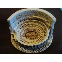 Coliseo Colosseo Italia Roma Recuerdo Miniatura Italiana New