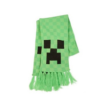 Bufanda De Minecraft Creeper