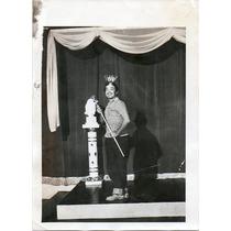 Foto Original De Prensa German Valdez Tin Tan En Un Teatro