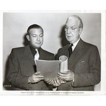Foto Mark Hellinger Y U.s.c. Head Rufus B Vonkleinsmid 1947