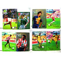 Barcel, Bimbo Y Panini, 27 Tarjetas De Futbol Soccer.