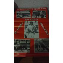 Cartelon Taurino Del Famoso Matador Ricardo El Negro Montaño