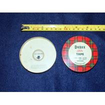 Antigua Caja De Lamina U Hojalata Durex Tape (diurex)