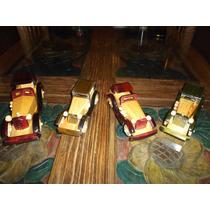 Coleccion De 4 Carcachas Madera Tipo Antiguas Hechas A Mano