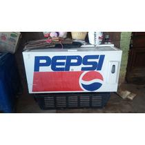 Antiguo Refrigerador Pepsi Años 70s Funcionando