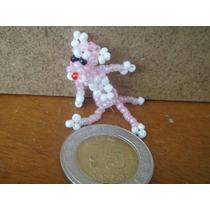 Artesania Coleccionable, Mini Pantera Rosa Chaquira