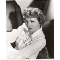 Fotografia Original De Claudette Colbert Paramount Pictures