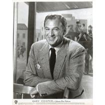 Fotografia Original Gary Cooper Warner Bros Pictures
