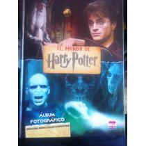 Libro Pasta Dura Álbum Fotográfico El Mundo De Harry Potter