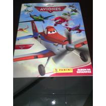 Album Panini Disney Aviones Estampas Sueltas 97.2% Lleno