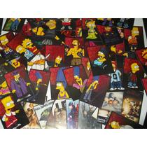 Los Simpsons Tarjetas Lote 136 Parodia Homies Cholos