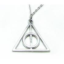 Harry Potter Collar Reliquias De La Muerte Hogwarts