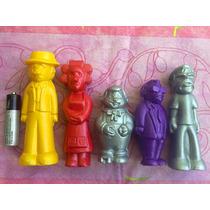 El Chavo Figuras De Plastico Soplado