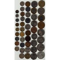 47 Monedas Antiguas Mexicanas Por Lote Todas Distintas Op4