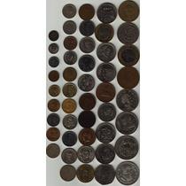 47 Monedas Antiguas Mexicanas Por Lote Sin Repetir Op4