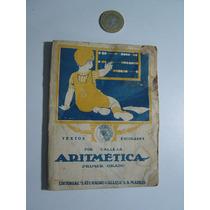Libro Antiguo Aritmética Calleja Secretaría De Educación