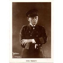 Postal Original Otto Gebuhr National Treuhand Film Mondial A