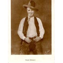 Postal Original Del Actor Hoot Gibson Universal - Matador