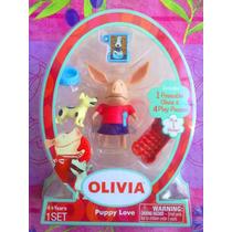 Oliva Set De Miniaturas De Mascota Y Accesorios