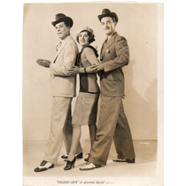 Foto Original College Love George J Lewis Eddie Phillips