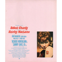Publicidad Sweet Charity Shirley Maclaine Bob Fosse 1969