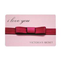 Tarjeta Coleccion Rosa Rojo I Love You Victorias Secret