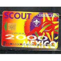 Tarjeta Telefonica De Asociacion De Scouts De Mexico