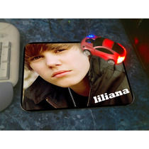 Mouse Pad Con De Justin Bieber, Crepusculo, Katy Perry, Ndd