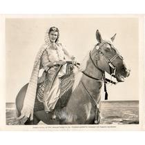 Fotografía Original Song Of Scheherazade Eve Arden 1947