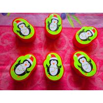 Pinguino Navideno Cajitas Para Hechar Cositas