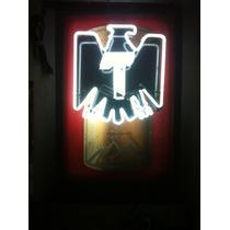 Anuncio Luminoso De Cerveza Tecate Luz Neon Daa