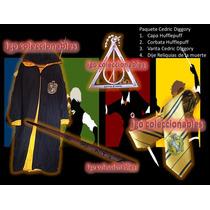 Paquete Cedric Diggory Capa Varita Hufflepuff Harry Potter I