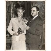 Grace Moore Rafael D La Colina Consul New York Aguila Azteca