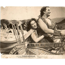 Foto Samson And Delilah Victor Mature Hedy Lamarr B Demille