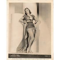 Fotografía Original Helaine Moler Paramount Pictures 1938
