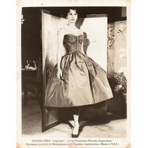 Fotografía Original Sophia Loren 1959 Paramount Pictures