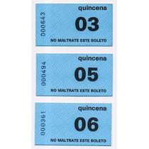 Abono De Transporte Azul Coleccionable Precio C/u