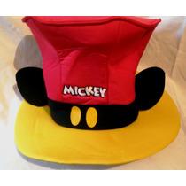Hermoso Sombrero De Copa De Mickey Mouse De Coleccion