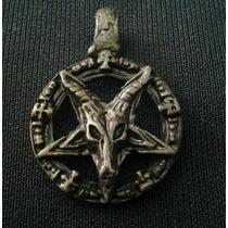 Dije Satanico Demoniaco 666 Bafomet Diablo Lucifer Suerte