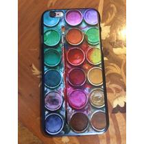 Fundas Acuarela Profesionales Colores Iphone 6