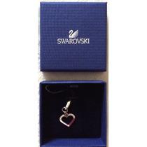 Colgante Para Celular Corazón Marca Swarovski 100% Original