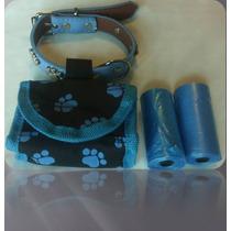 Collar Para Perro Con Bolsas Para Popo-mascota-